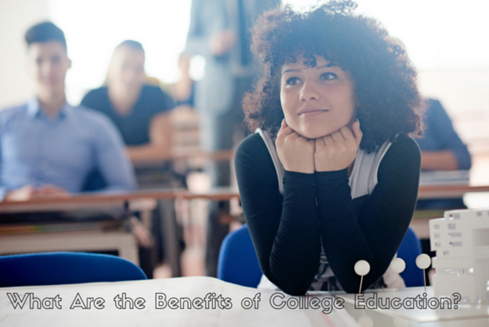 Content what are the main benefits of college education
