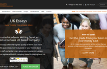 UKEssays.com review screen