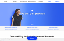 Acad-Write.com review screen